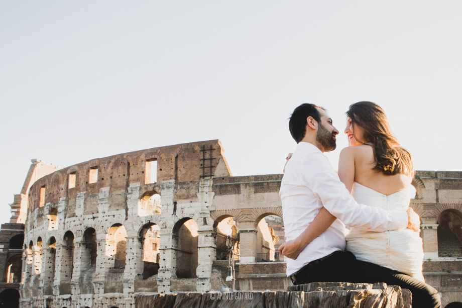 italy wedding photographer rome day after tuscany siena venice timeless style contemporary elegant wedding photography Aude Vincent elopement photo